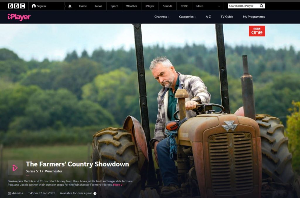 Paul, Jackie and their son Arthur have appeared on the BBC's The Farmers' Country Showdown